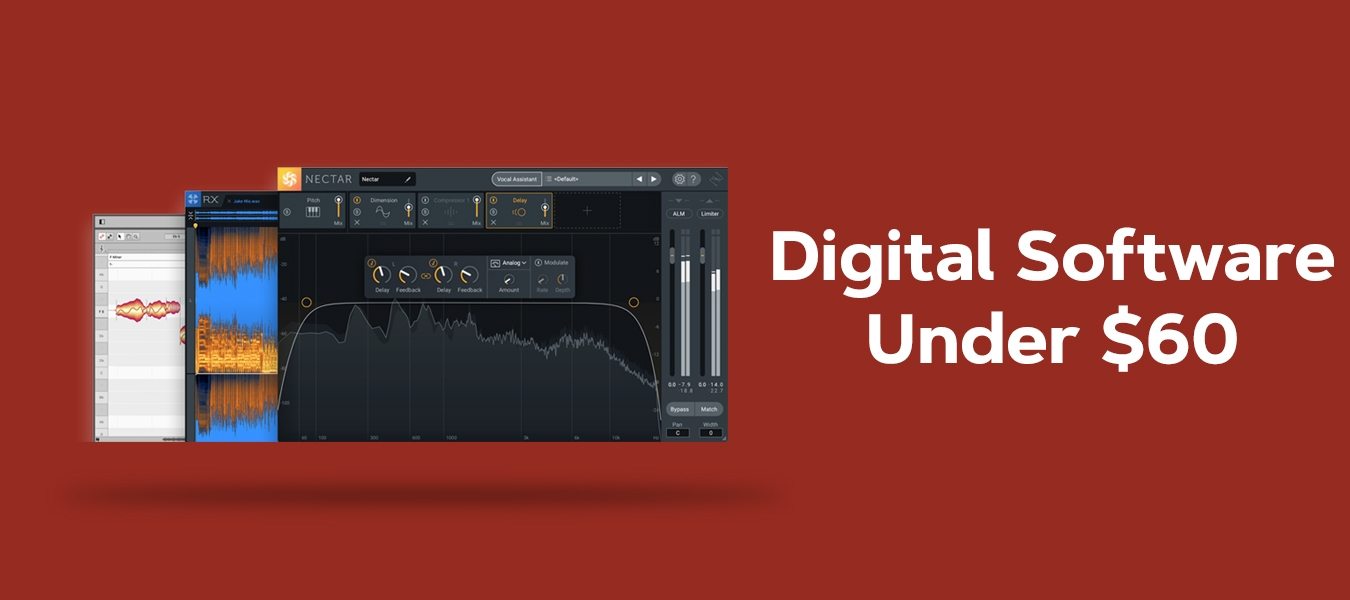 Digital software under $60