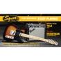 Squier Affinity Telecaster Electric Guitar Beginner Pack - Brown Sunburst