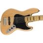 Squier by Fender Classic Vibe '70s Jazz Bass V, 5-String, Maple Fingerboard, Natural