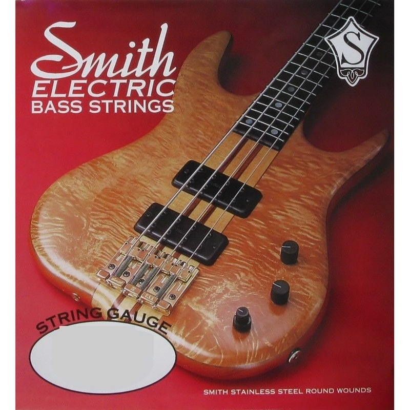 Ken Smith AB-S130 Slick Round Electric Bass String, Single Low B (0.130)