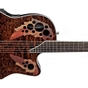Ovation CE48P Celebrity Elite Plus Super Shallow Acoustic-Electric Guitar in Tiger Eye