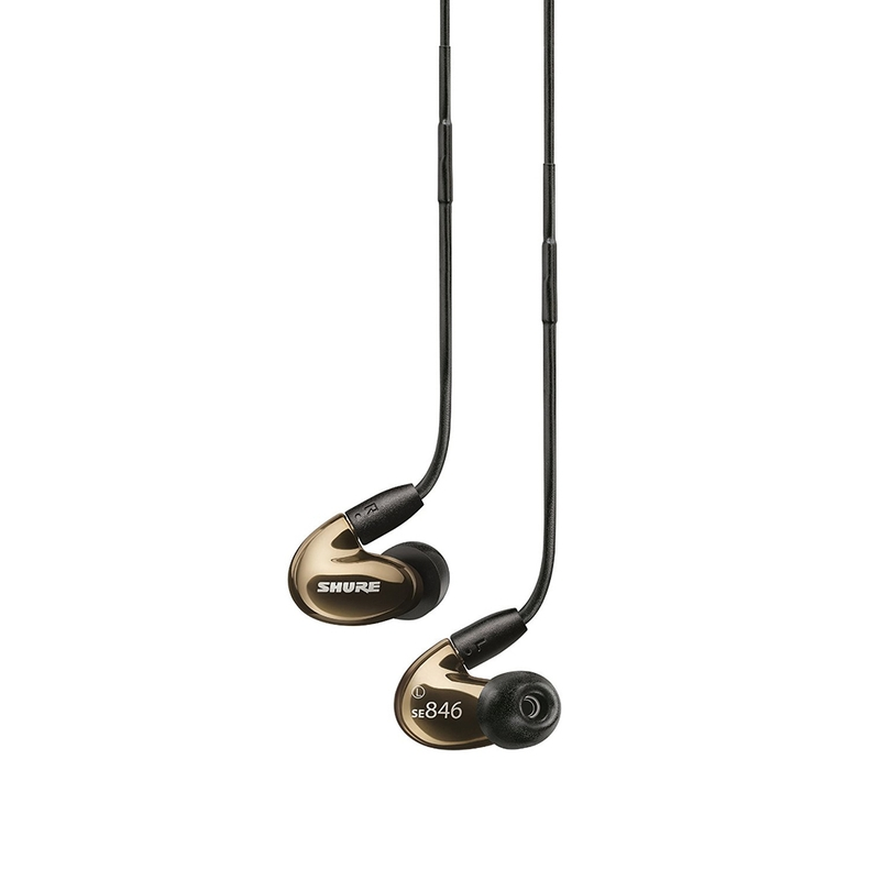 Shure SE846-BNZ Sound Isolating Earphones (Bronze)