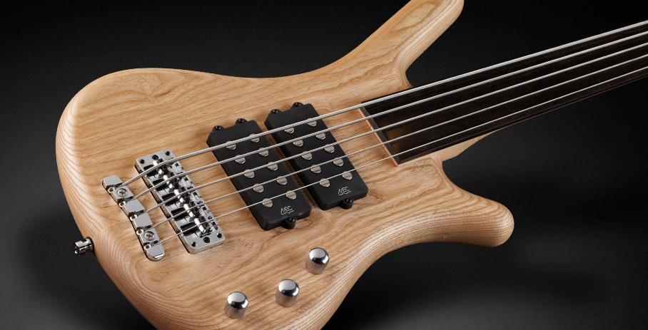 Warwick RockBass Corvette $$ 5-String Fretless Electric Bass - Natural Satin Finish