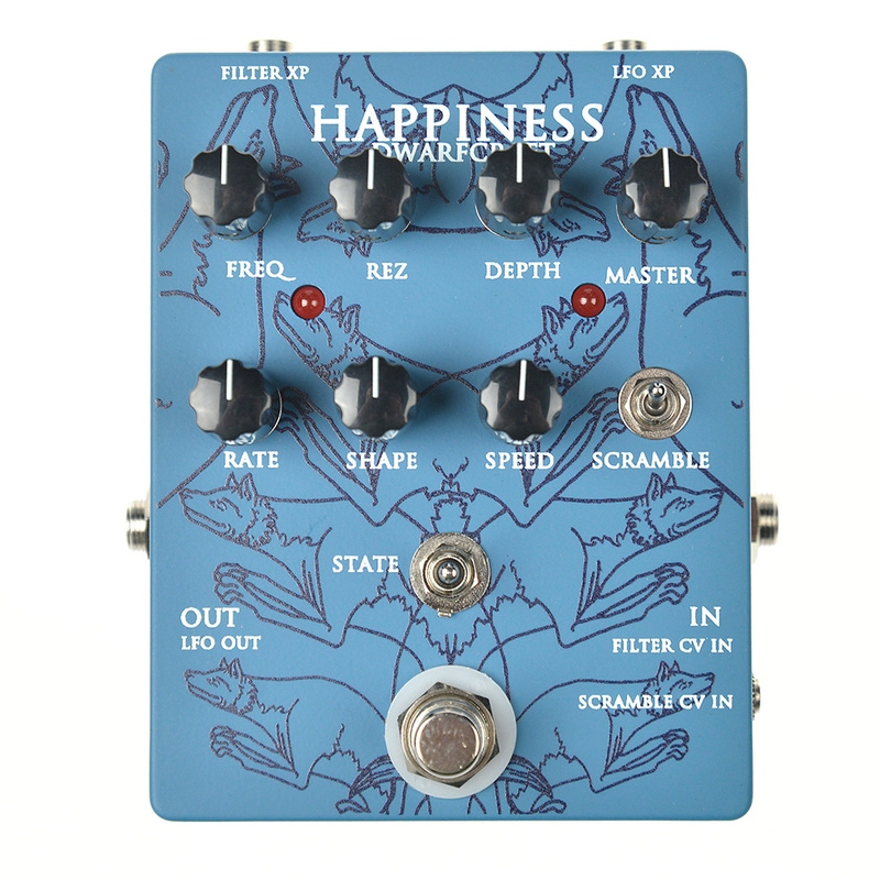 Dwarfcraft Devices Happiness Filter/LFO Guitar Effects Pedal