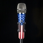 Telefunken M80 Super Charged Dynamic Microphone with USA Colored Body and Chrome Grille
