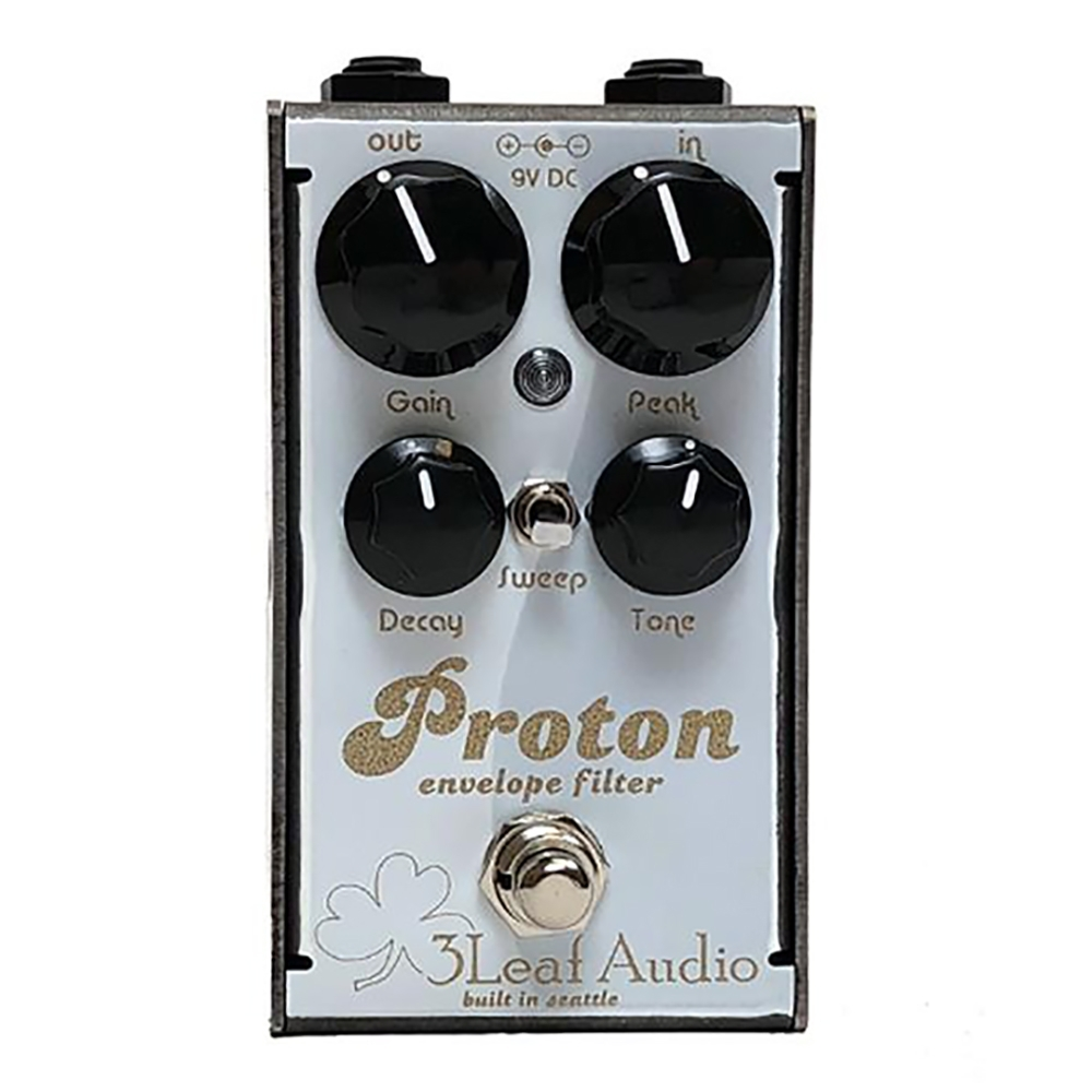 3 Leaf Audio Proton Envelope Filter Bass Guitar Effects Pedal Ruby