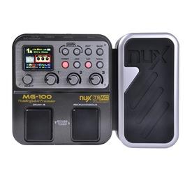 pitbull audio nux mg 100 multi effects guitar processor pedal. Black Bedroom Furniture Sets. Home Design Ideas