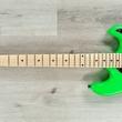Ernie Ball Music Man BFR Cutlass HSS Guitar, Floyd Rose, Maple Fretboard, Lime Green