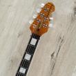 Ernie Ball Music Man BFR Mariposa Guitar, Ebony Fretboard, Trans Black