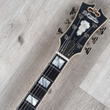 D'Angelico DADBRIMWLNS Deluxe Brighton Guitar, Ebony Fretboard, Matte Walnut