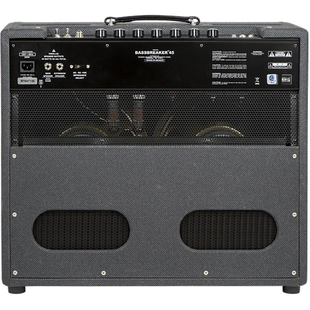 pitbull audio fender bassbreaker 45 combo 45 watt 2x12 guitar combo amplifier. Black Bedroom Furniture Sets. Home Design Ideas