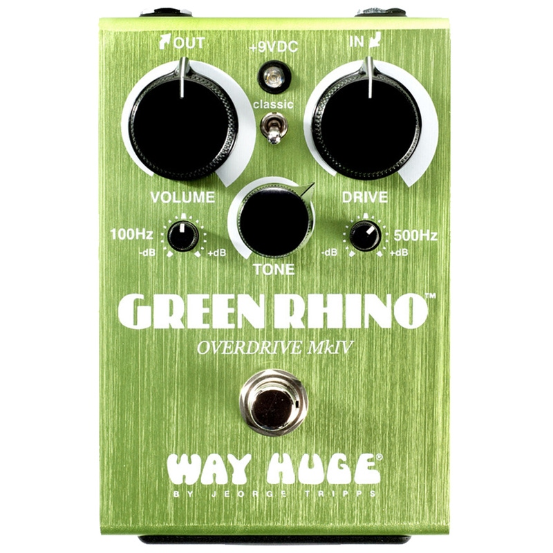 Way Huge Green Rhino Overdrive MKIV Guitar Effects Pedal