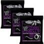 3-Pack Ernie Ball 2720 Cobalt Power Slinky Electric Guitar Strings (11-48)