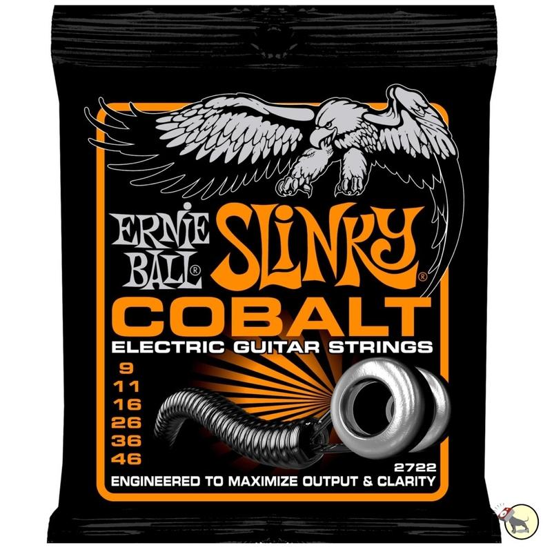 Ernie Ball 2722 Cobalt Hybird Slinky Electric Guitar Strings (9-46)