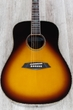 Sire R7 DZ VS Zebra 7 Original Acoustic Electric Guitar, Vintage Sunburst
