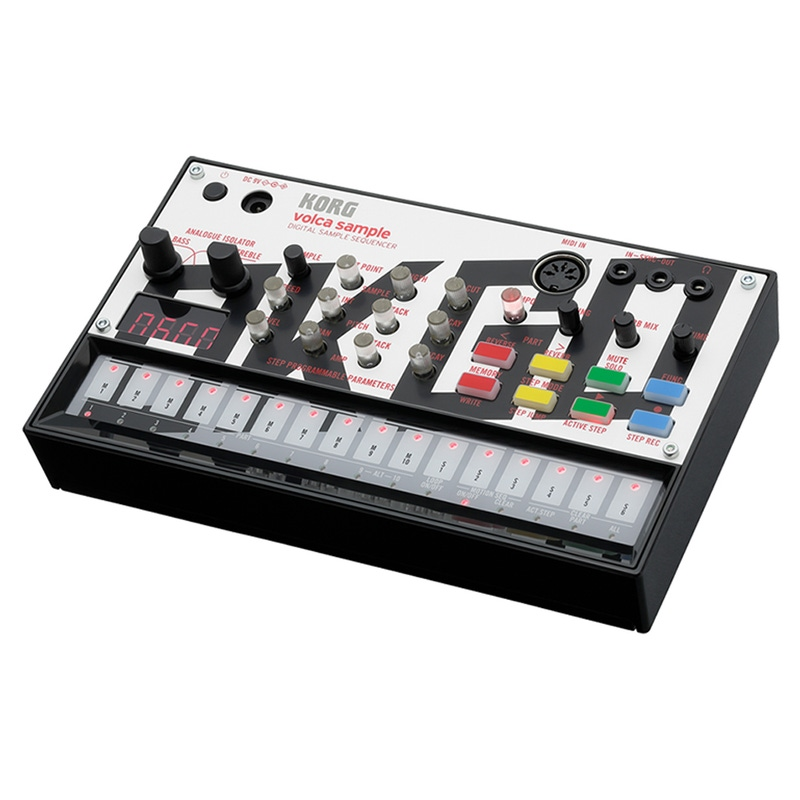 Korg Volca Sample Limited Edition OK GO Digital Sample Sequencer (B-STOCK)