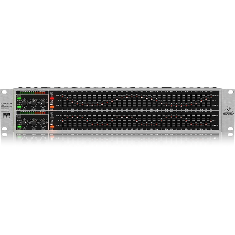 Behringer Ultragrpah Pro FBQ3102HD High-Definition 31-Band Stereo Graphic Equalizer