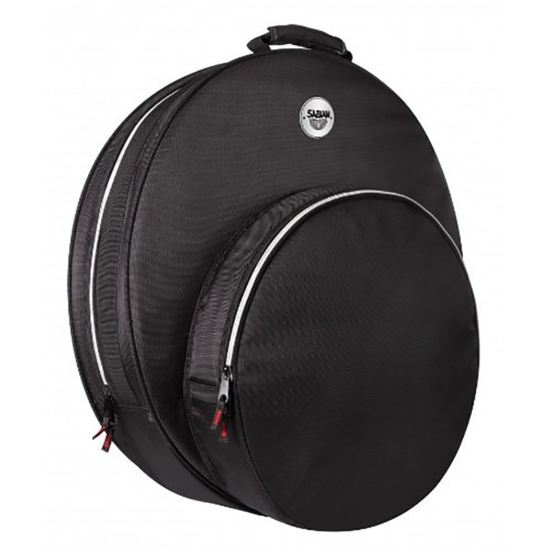 """Sabian SFAST22 Fast 22"""" Cymbal Bag with Fast Hat Pocket in Black"""