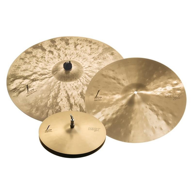 Sabian HHX Legacy Cymbal Pack, 15'' Hats, 19'' Crash, 22'' Heavy Ride
