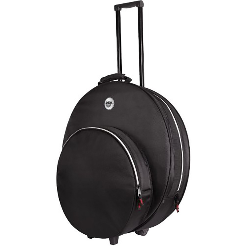 "Sabian SPRO22 Pro 22"" Cymbal Bag with Fast Hat Pocket in Black"