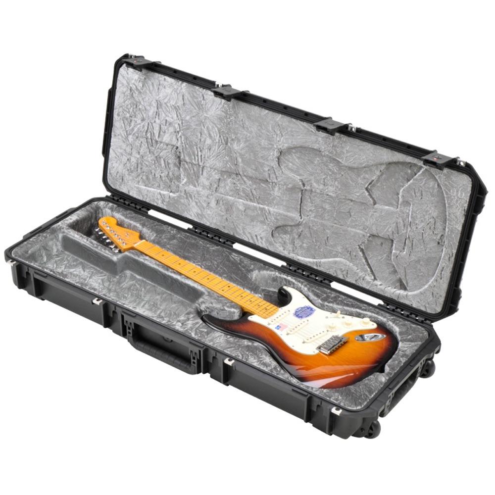 skb iseries waterproof fender strat tele guitar tsa locking latch flight case ebay. Black Bedroom Furniture Sets. Home Design Ideas