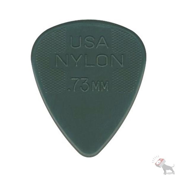 72 Jim Dunlop USA 44R.73 Nylon Standard Pack 0.73mm Grey Guitar Picks