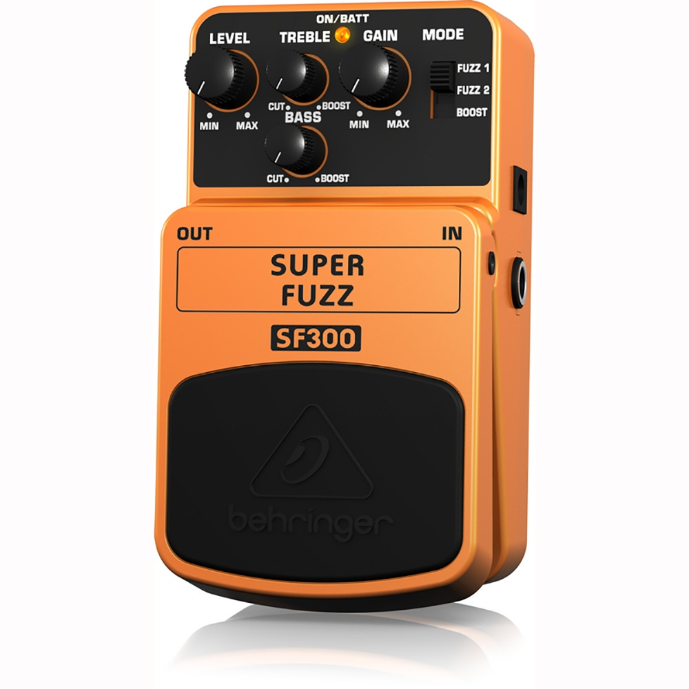 pitbull audio behringer sf300 super fuzz distortion guitar effects pedal. Black Bedroom Furniture Sets. Home Design Ideas