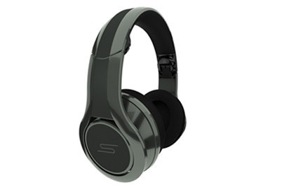 SMS Over-Ear Wired Street Headphones by 50 Cent DJ Pro Performance Grey