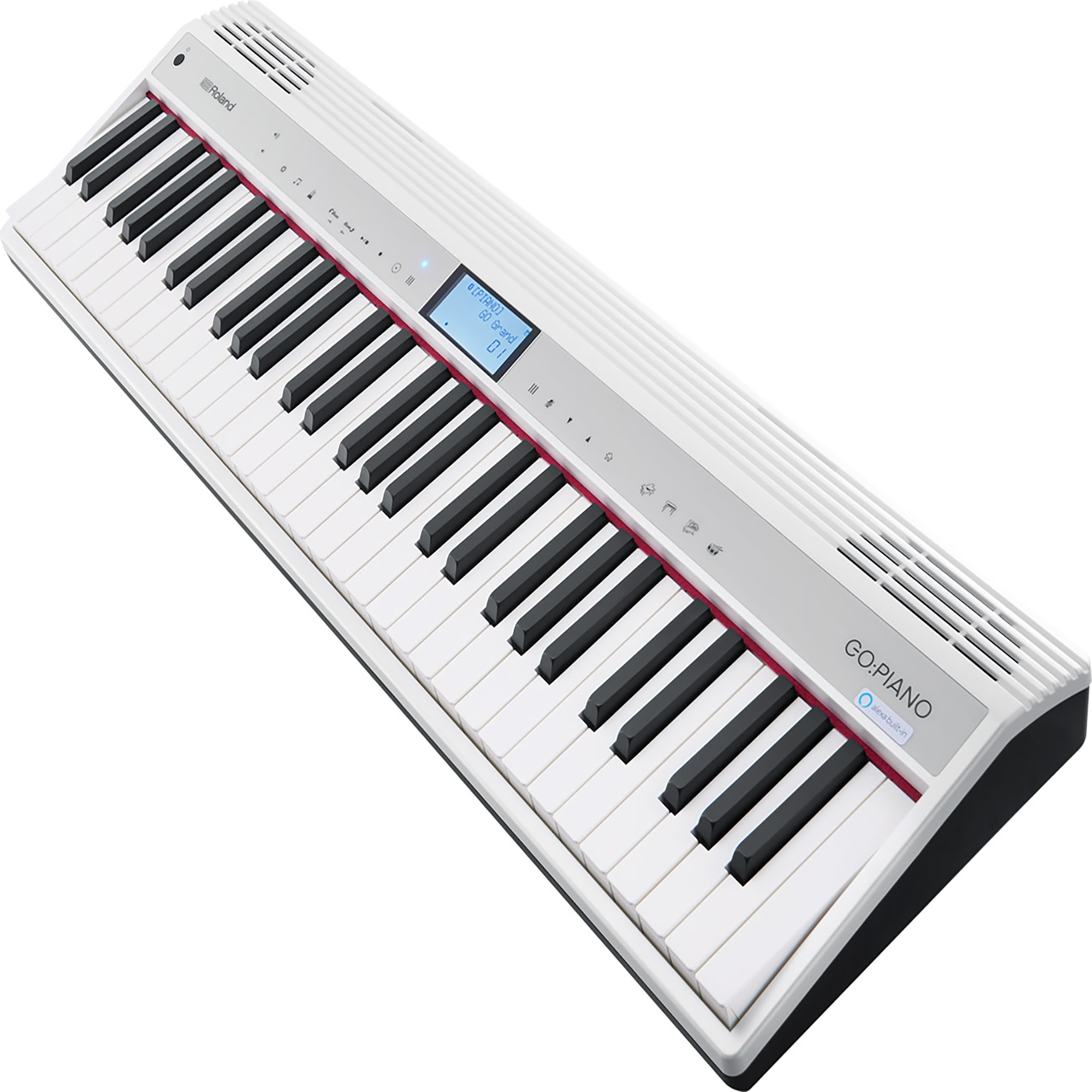 Roland Go Piano 61 Key Music Creation Keyboard With Alexa Voice Command Built In