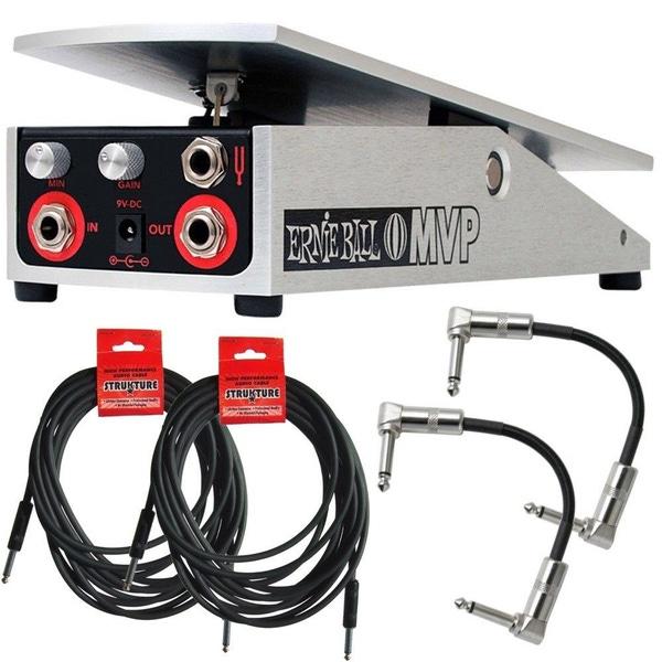Ernie Ball 6182 MVP Dynamic Hybrid Volume Overdrive Express Guitar Pedal Cables