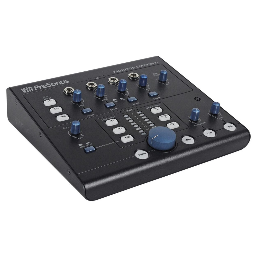 pitbull audio presonus monitor station v2 desktop studio control center. Black Bedroom Furniture Sets. Home Design Ideas