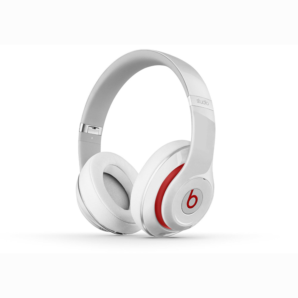Beats By Dre Studio 2 0 Wired Over Ear Headphones White