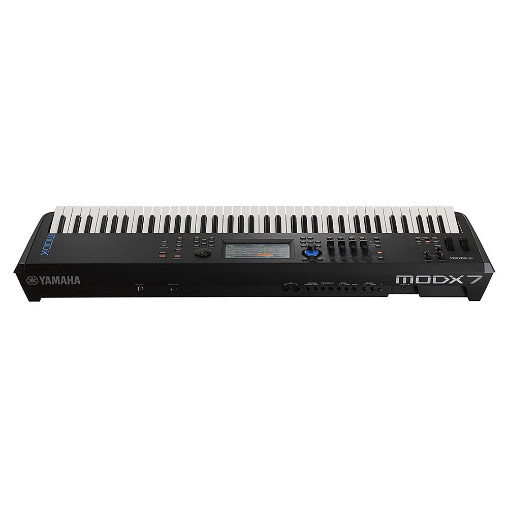 pitbull audio yamaha modx7 76 key synthesizer keyboard controller programable synth action. Black Bedroom Furniture Sets. Home Design Ideas