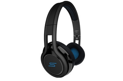 SMS On-Ear Wired Street Headphones by 50 Cent Black SMS-ONWD-BLK100% Genuine