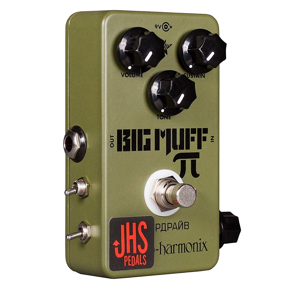 pitbull audio jhs pedals ehx green russian pi moscow mod fuzz overdrive guitar effects pedal. Black Bedroom Furniture Sets. Home Design Ideas