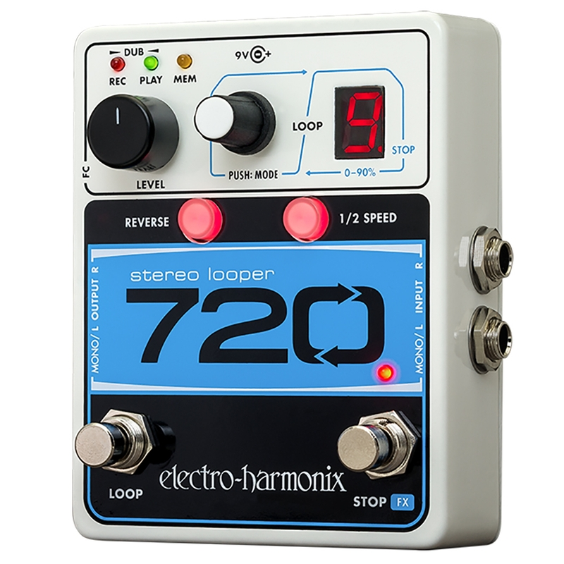 Electro-Harmonix 720 Stereo Looper Guitar Effects Pedal