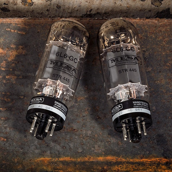 Mesa Boogie 6L6 STR 445 Matched Pair (Duet) Power Tubes, Made in Slovakia