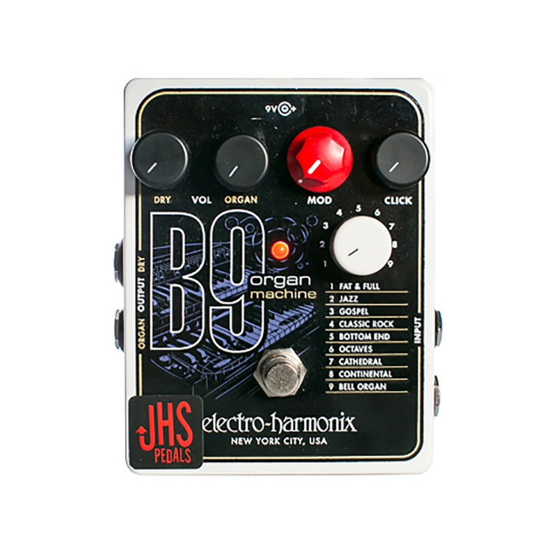 pitbull audio jhs pedals ehx b9 organ machine effects pedal with expression mods. Black Bedroom Furniture Sets. Home Design Ideas
