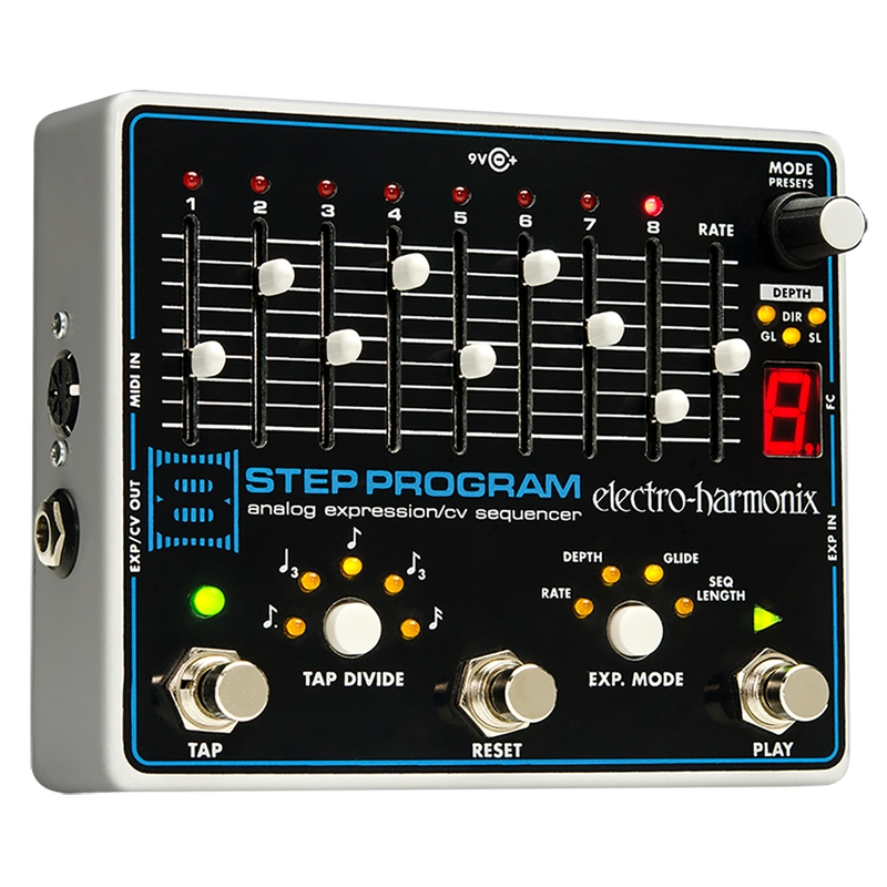 Electro-Harmonix 8-Step Program Analog Expression/CVSequencer Pedal
