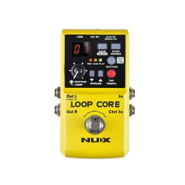 pitbull audio nux loop core guitar effects pedal. Black Bedroom Furniture Sets. Home Design Ideas