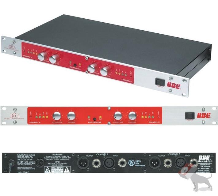 BBE 882i Dual Mono 2-Ch Sonic Maximizer Audio Enhancing DJ Signal Processor