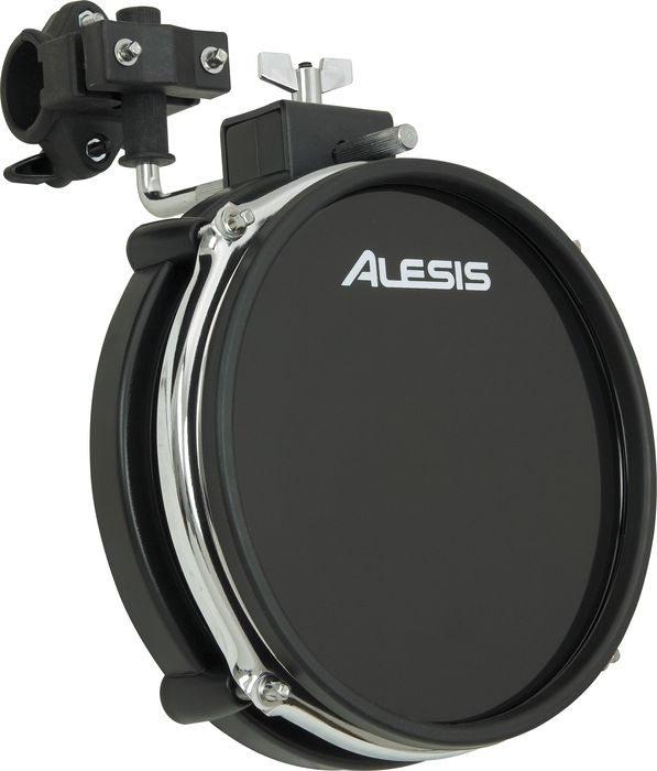 "Alesis Realhead 8"" Dual Zone Electronic Trigger Triple Flanged Drum Pad Black"
