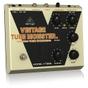 Behringer VT999 Vintage Tube Monster Classic Vacuum Tube Overdrive Guitar Effects Pedal