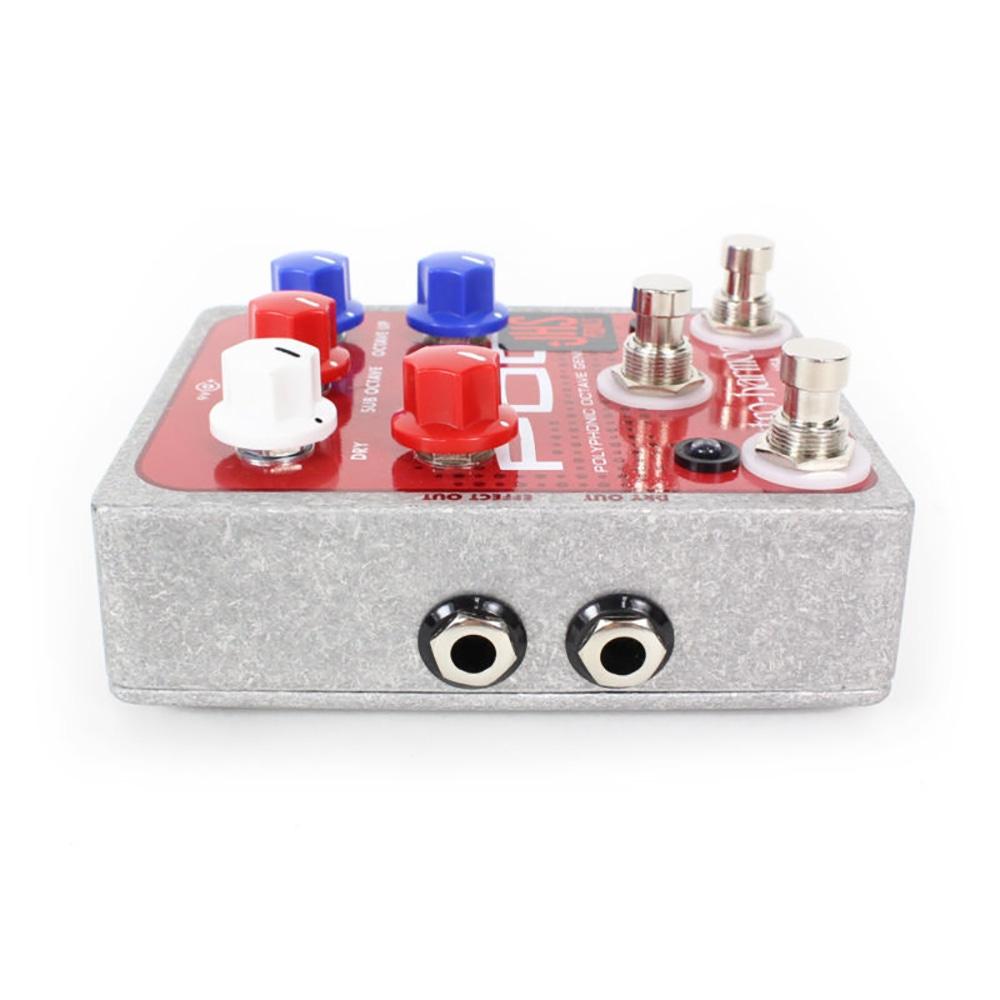 pitbull audio jhs pedals electro harmonix micro pog quadra pog guitar effect pedal. Black Bedroom Furniture Sets. Home Design Ideas