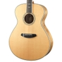 Breedlove Guitars Stage Exotic Concerto E Acoustic Electric Guitar, Sitka Spruce - Myrtlewood, w/ Bag