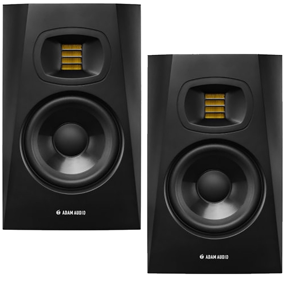 Adam Audio T5V 2-Way Active Nearfield Studio Monitor, Pair