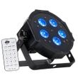 ADJ American DJ Mega Hex Par - LED Par with RGBAW+UV LEDs