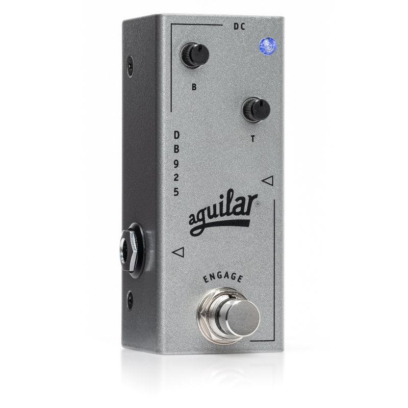 Aguilar DB 925 Compact 2-Band Preamp Bass Guitar Effects Pedal