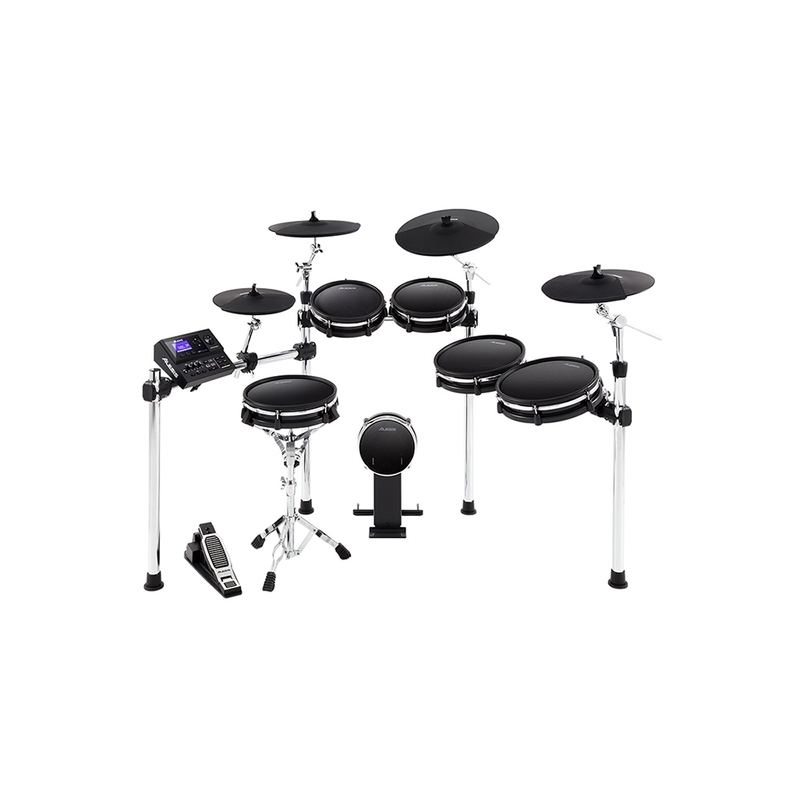 Alesis DM10 MKII Pro Kit - Premium 10-Piece Electronic Drum Kit with Mesh Heads