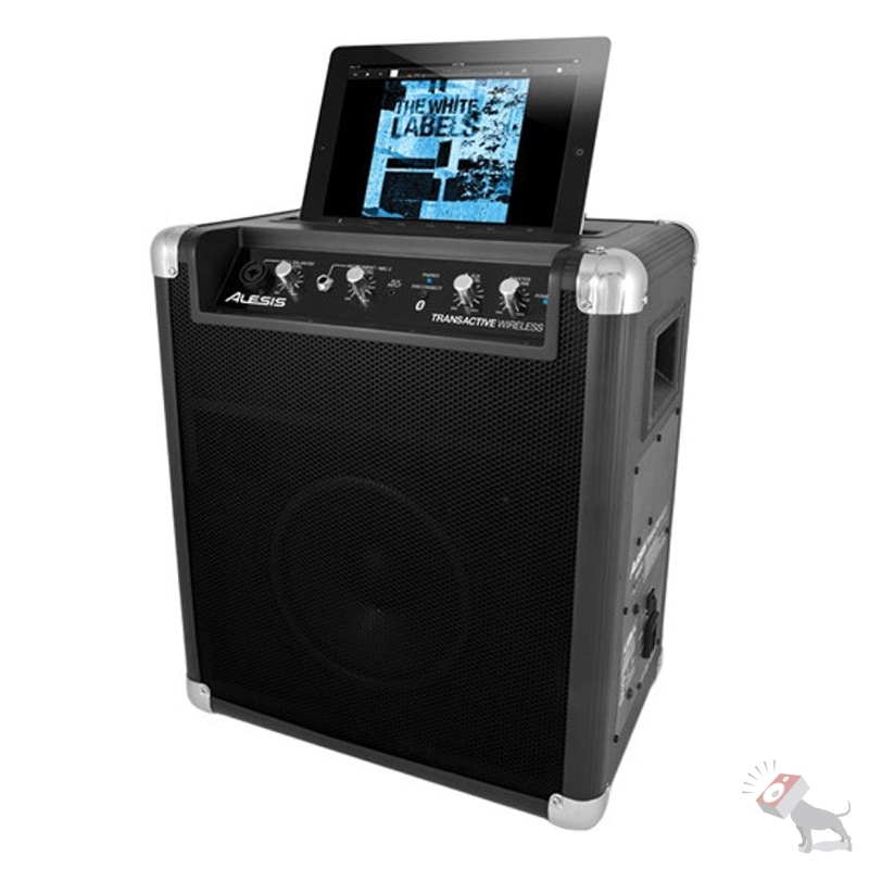 Alesis TransActive Wireless Portable Powered PA Mobile Bluetooth Speaker System